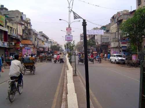 Main City in Old City, Delhi