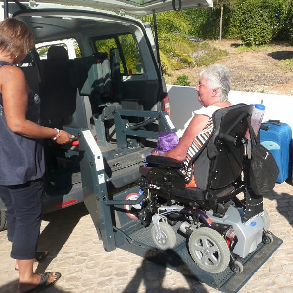 adapted transfer for wheelchair users lagos portugal algarve limited mobility
