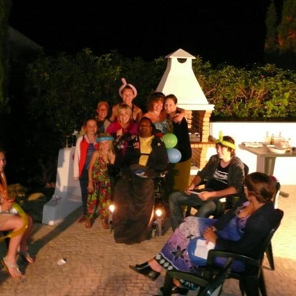 lagos villa family photo wheelchair accessible