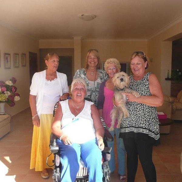 lagos villa inside photo family wheelchair user