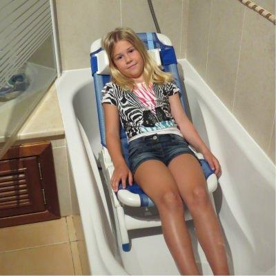 accessible lagos algarve villa pediatric shower chair