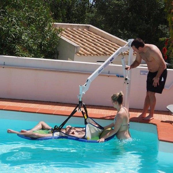 pool hoist slight portugal villa accessible pool lagos algarve
