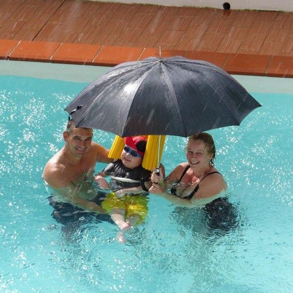 accessible swimming pool in villa portugal lagos algarve