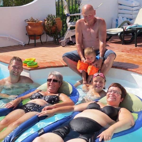 accessible pool with adapted facilities lagos portugal algarve