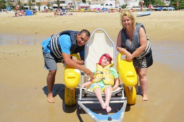 Accessible Beach Wheelchair Lagos Algarve Portugal