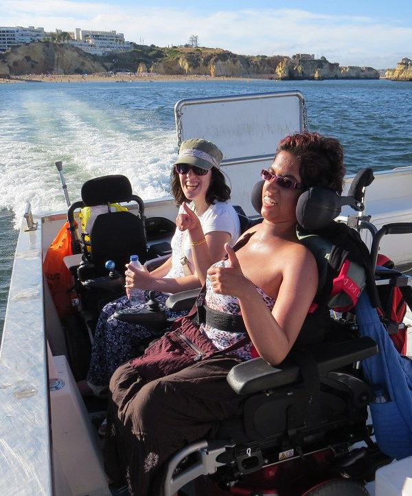 boat trip for wheelchair users algarve lagos portugal