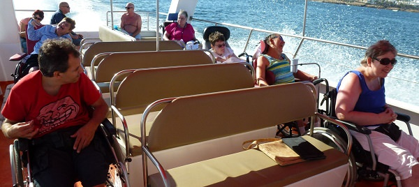 accessible boat trip algarve lagos portugal