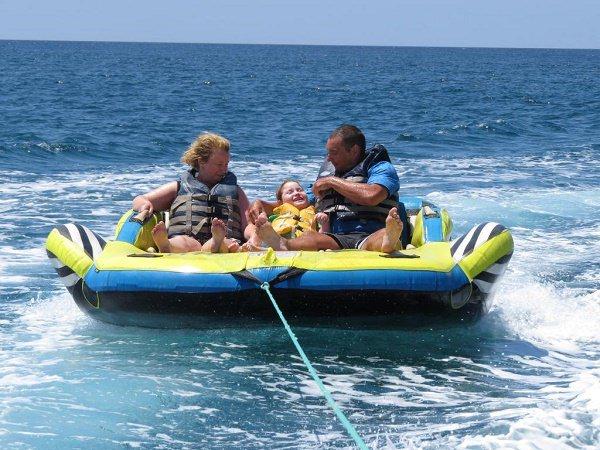 accessible dingy ride boat algarve villa portugal lagos mobility