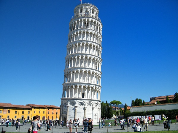 leaning tower of pisa disabled holiday