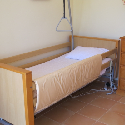 hospital beds abroad
