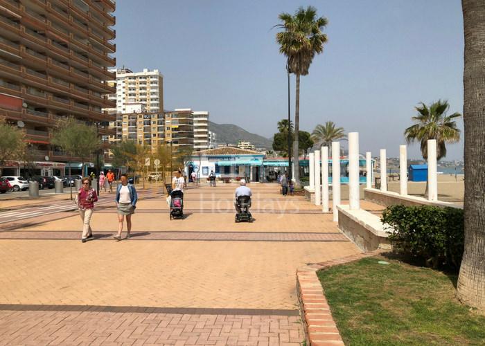 Accessible Promenade Along Beach in Fuengirola, Costa del Sol