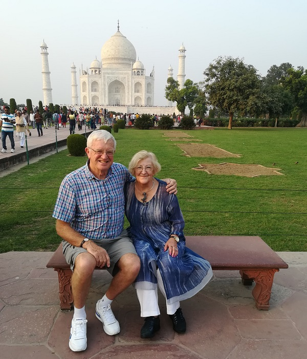 accessible holiday visiting the taj mahal India