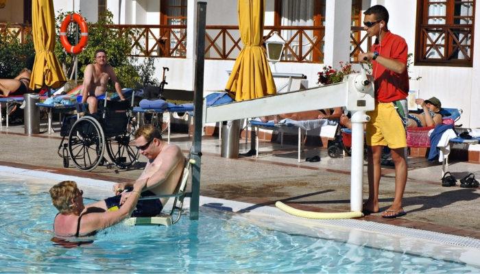 Mar y Sol Accessible Pool